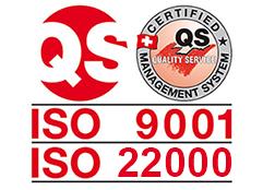 ISO 9001 i 22000 certifikat